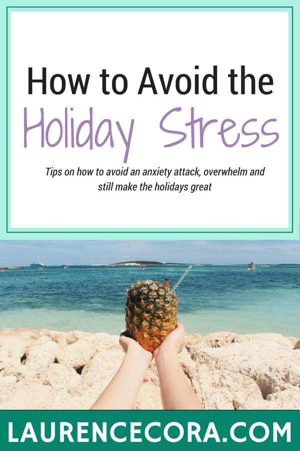 Holiday Stress Blog