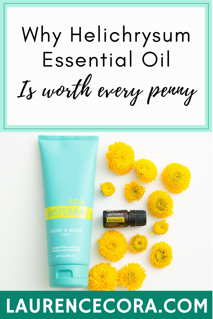 Why Helichrysum Essential Oil